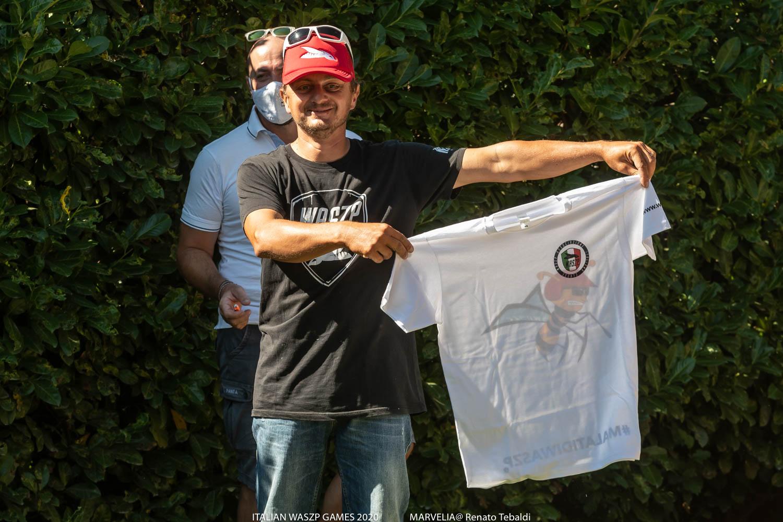 E' arrivata la t-shirt della associazione italiana classe waszp!